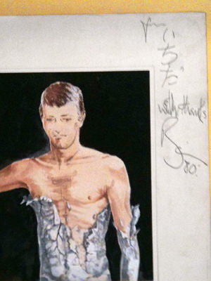 Bowie autograph for ichida with thanks 80