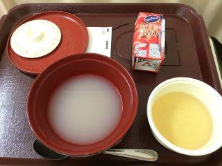 低残渣流動食