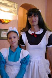 メイドの父と娘