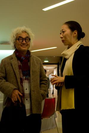 十文字美信先生と竹内万里子さん